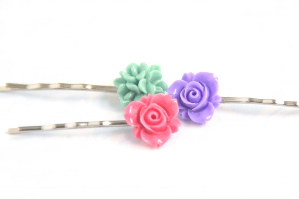 Flower Hair Pin: Happy kid